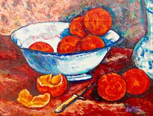 Oranges after Gauguin
