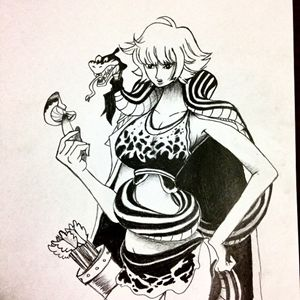 Kuja Warrior and Archer - Marguerite