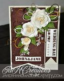 Wedding handmade card