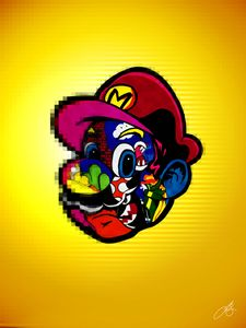 Surface of Mario