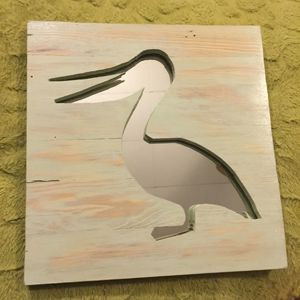 Pelican Mirror Art