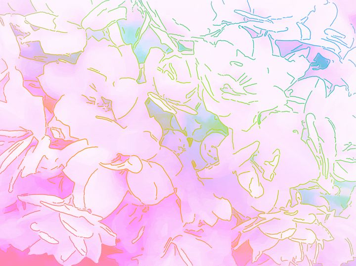 Background with flower - CLA