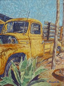 Old Yellow Truck 2 - Dewey Franklin