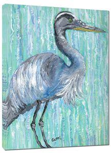 "SALE! Blue Heron Canvas Art,24 x 36"""