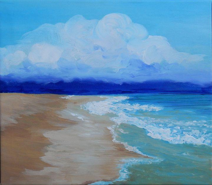 Storm on the Horizon - Joy Parks Coats Art