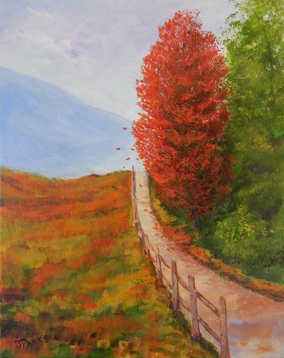 Autumn in the Smokies - Joy Parks Coats Art