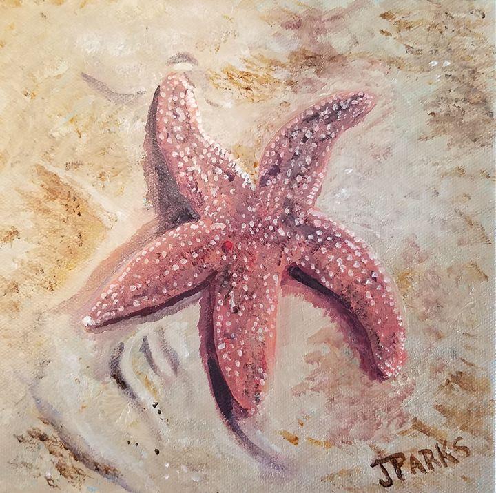 Sea Star at Fort Fisher - Joy Parks Coats Art