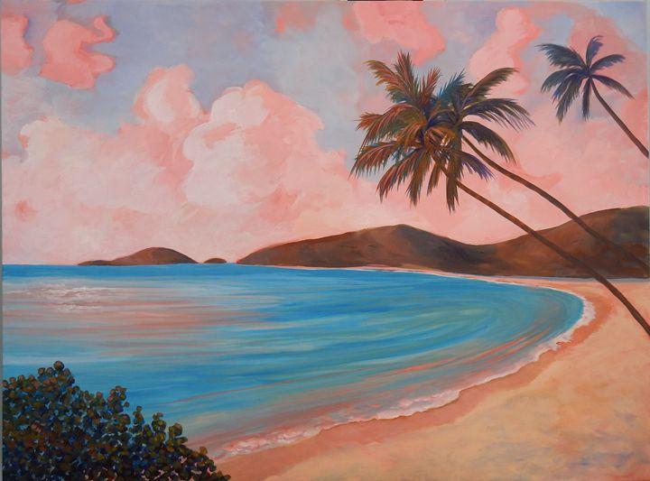 Somewhere in the Caribbean - Joy Parks Coats Art