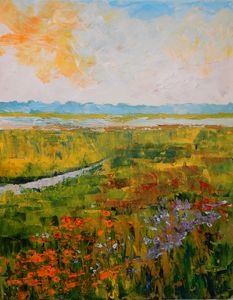 Wildflowers on the Marsh