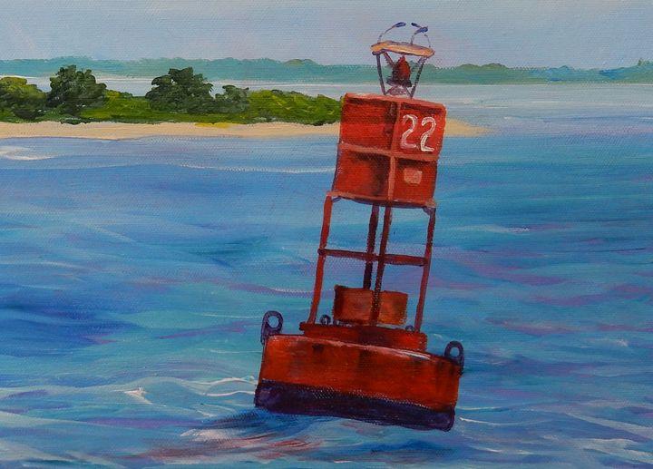 Buoy 22 - Joy Parks Coats Art