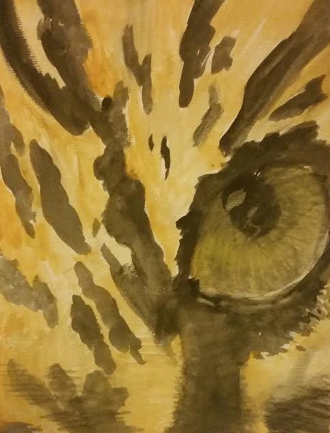 Eye of the Tiger - R' Studioz Art by RaeLynn Hunter