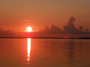 Last light on the bay