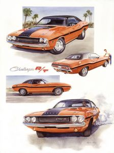 1970 Dodge Challenger RT