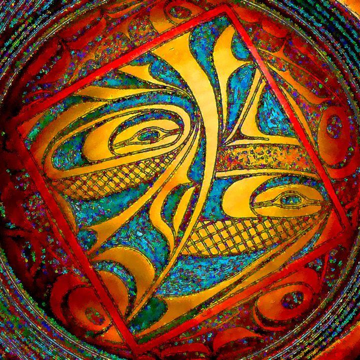 Haida Style Native American Art 34 - Native American Art