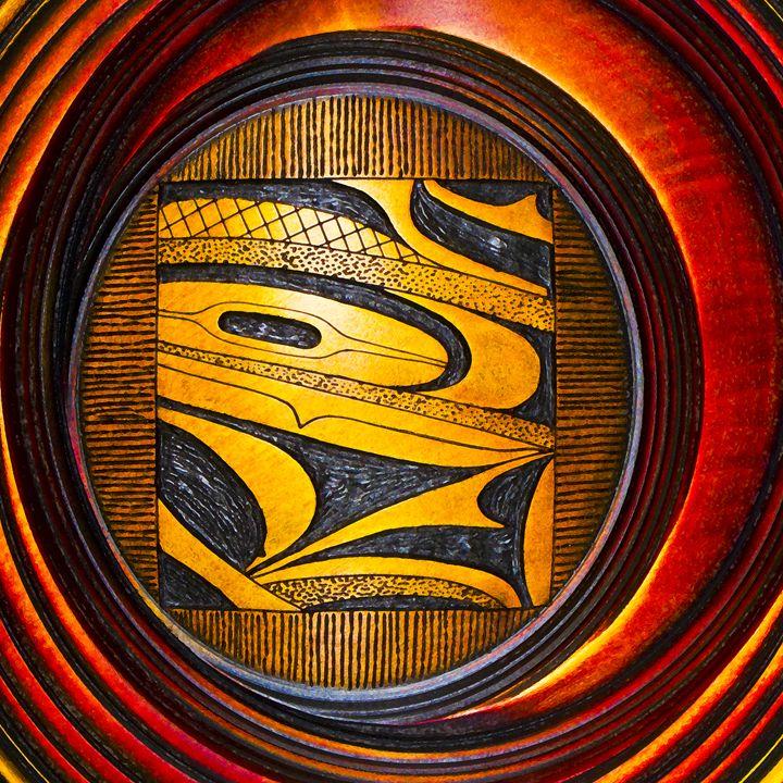 Haida Style Native American Art 35 - Native American Art