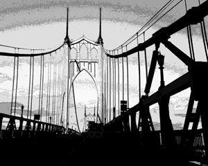 St. Johns Bridge Portland Oregon