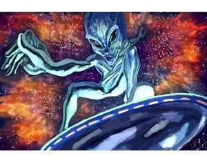 Cosmic Surfer