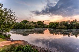 Hollow Ponds Sunset