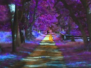 Walking Path #655 William Kaluta Art