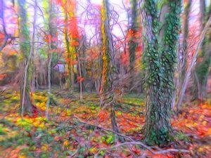 Autumn Light #62  William Kaluta Art