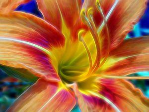 """Artwork Title """"Flower Closeup #325"""""""