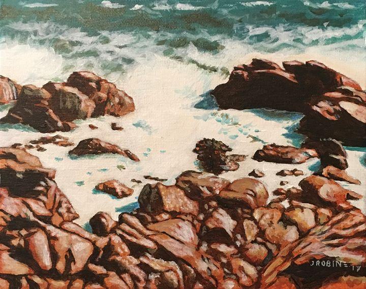 Chilean Rocks 2 - J. Robin E Art