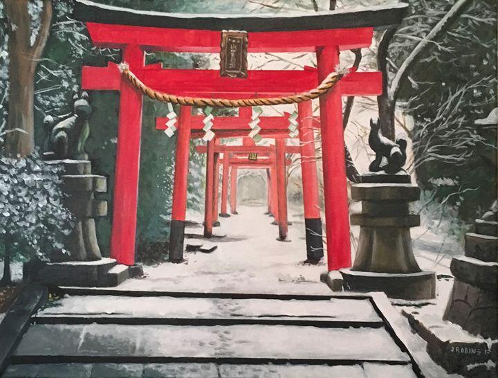 Japanese Torii Gates - J. Robin E Art