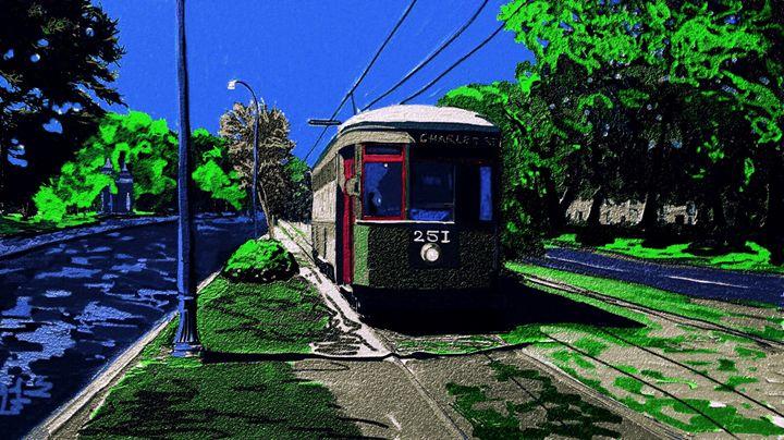 Streetcar Art - KJHART