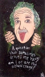 Galactic Albert einstein