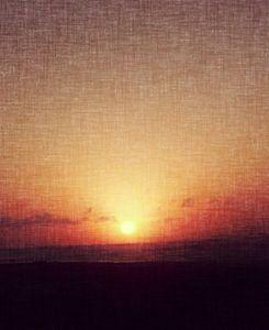 Sunset on Canvas