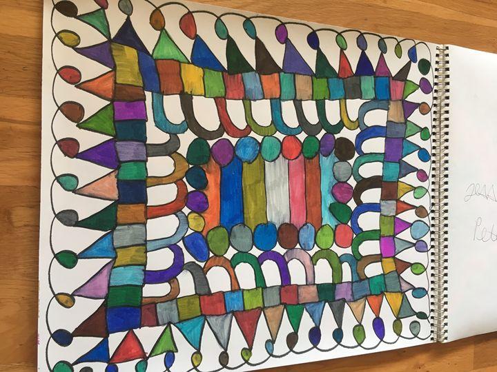 Box art - Shapes of color