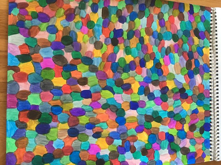 Lots of circles - Shapes of color