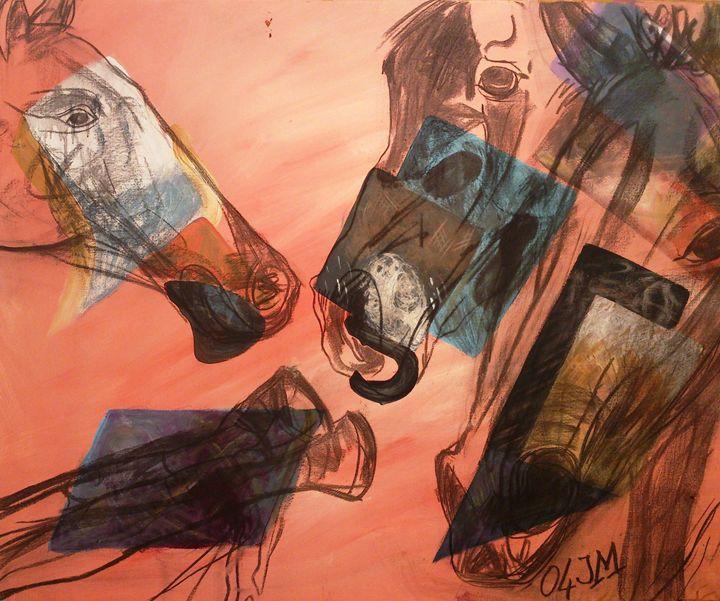 The Horse's coat - JM's Art