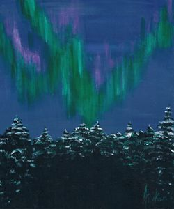 Northern Lights Canadian Arctic