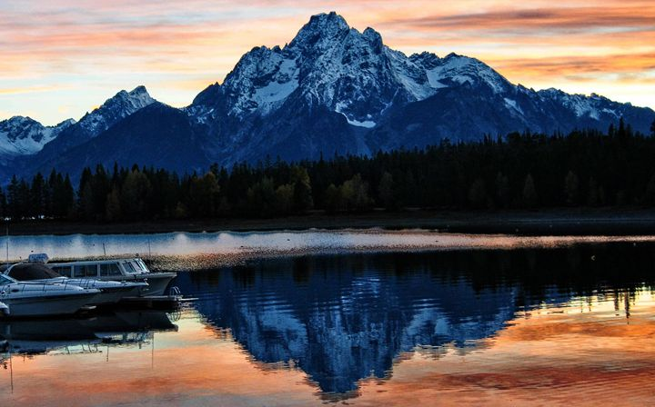 Tetons View From Leeks Marina - Mistyck Moon Creations Gallery