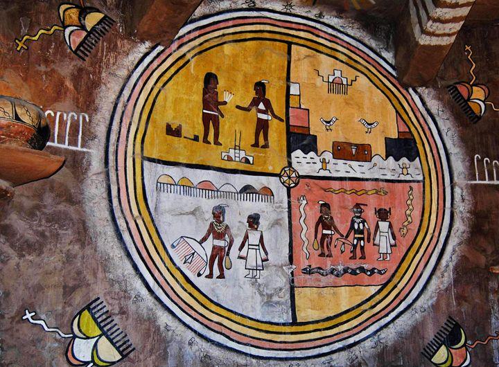 Native American Art Desert View - Mistyck Moon Creations Gallery