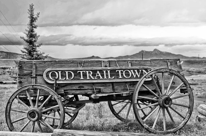 Old Trail Town Wagon - Mistyck Moon Creations Gallery