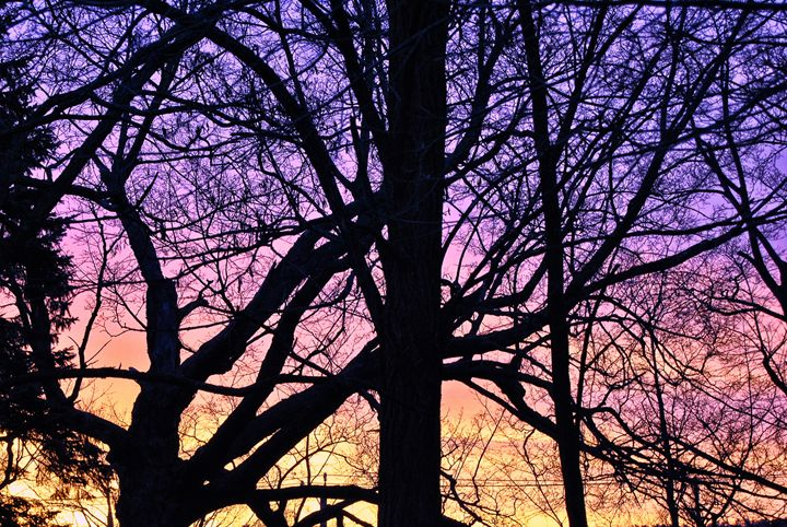 Purple Sunrise - Mistyck Moon Creations Gallery