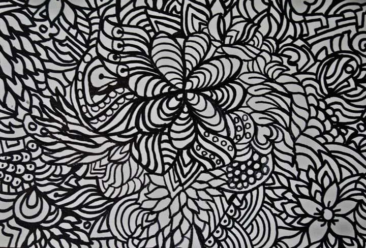 Adult Coloring Floral - Mistyck Moon Creations Gallery