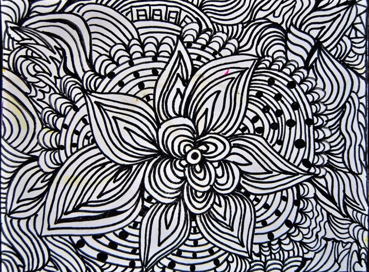 Abstract Floral Pattern - Mistyck Moon Creations Gallery