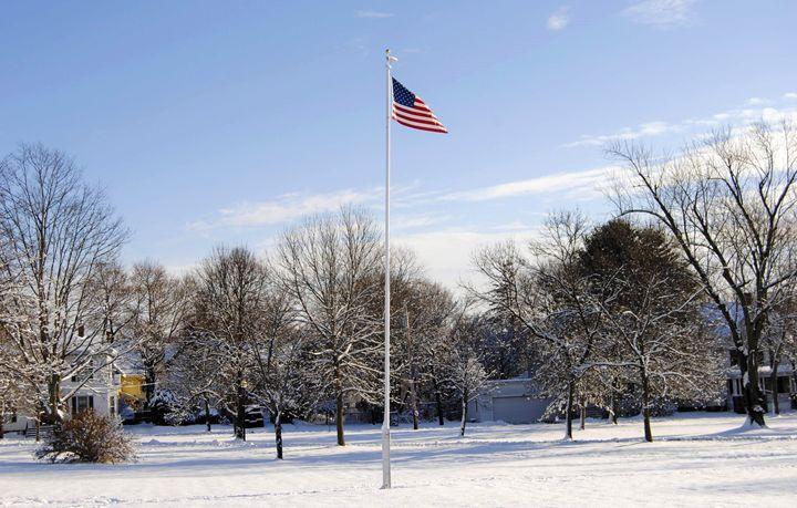 Winter Wonderland Flag - Mistyck Moon Creations Gallery