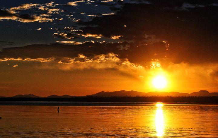 Sunrise Over Yellowstone Lake - Mistyck Moon Creations Gallery