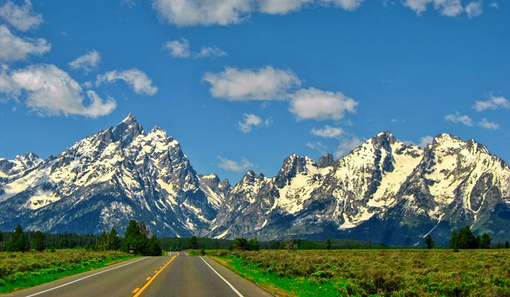 Road To The Tetons - Mistyck Moon Creations Gallery