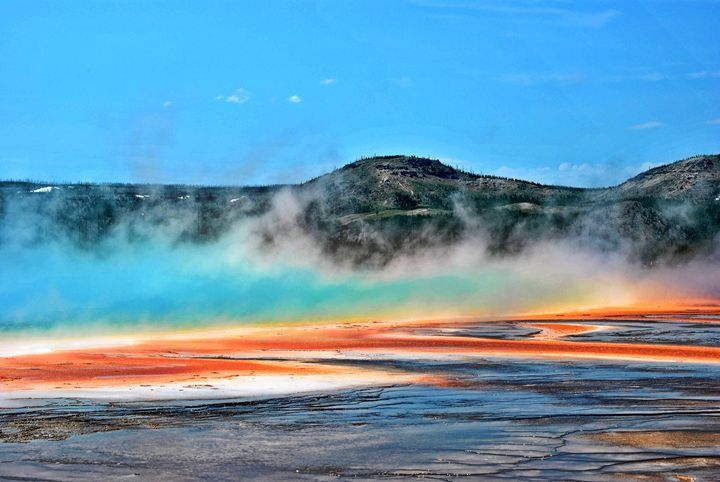 Grand Prismatic Spring-Yellowstone - Mistyck Moon Creations Gallery