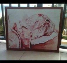 Sleeping Child Painting Original Art