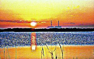 Cliffe Sunset 2