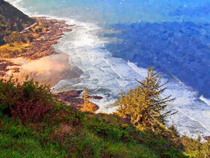 Beautiful Places Seascape - Rogue Art