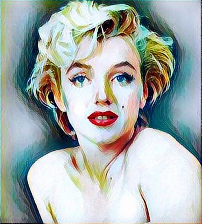 Marilyn Monroe - Rogue Art