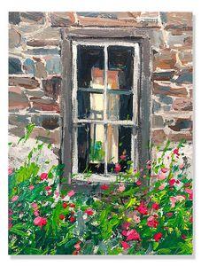 amish window