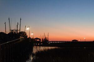 Sunset at Shem Creek